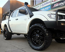 Mitsubishi Triton Fender Flares 2006-2012 WHITE MN ML Wheel Arch Set Of 4