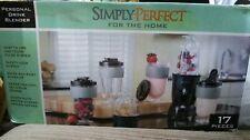 17 pcs. Personal Blender Smoothie Juicer Drink Blender Kitchen Appliance