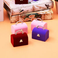 Square Gift Box Women Earrings Ring Jewelry Packaging Display Organizer Box v