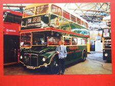 PHOTO  OMNIBUS ROUTEMASTER BUS  CUV 208C