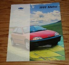 Original 1999 Chevrolet Metro Sales Brochure 99 Chevy