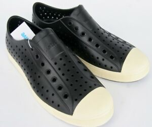 Native Shoes Jefferson Jiffy Black Washable Water Resistant Native