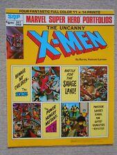 More details for the uncanny x-men  giant marvel super hero portfolio 1981.4 x-men  prints