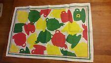 Vintage 1970's Brooke Bond D Patterned Tea Towel – Kitchenalia – Retro!  –
