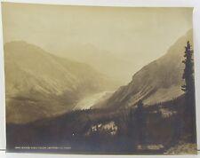 WILLIAM NOTMAN Original Photograph CANADA Kicking Horse River BRITISH COLUMBIA