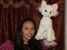 "Aristocats Disney World White Cat Mom Duchess Dutchess Plush 15"" Disneyland TOY"