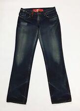 Cycle jeans donna japan W30 tg 44 gamba dritta usato slim blu vita bassa T1617