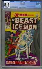 X-MEN #47 CGC 8.5 WHITE PAGES
