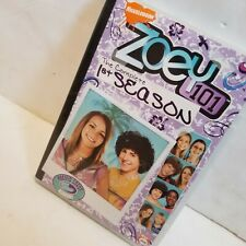 ZOEY 101 Complete 1st First Season DVD 2-Disc Set - Jamie Lynn Spears No Insert