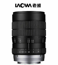 Venus Laowa 60mm f/2.8 Full Frame Ultra Macro Manual Focus Lens for Sony Alpha