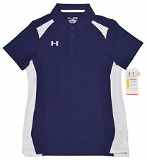 UNDER ARMOUR Heatgear Athletic Performance POLO SHIRT Women's Large L New w/ Tag