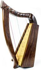 More details for dannan handmade 9 string celtic wooden harp