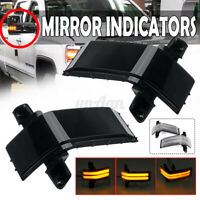 LED Side Mirror Indicator Repeater Light For Chevrolet Silverado GMC Sierra