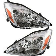 NEW 2004-05 FITS TOYOTA SIENNA HEADLIGHT ASSEMBLY LH & RH TO2503150 TO2502150