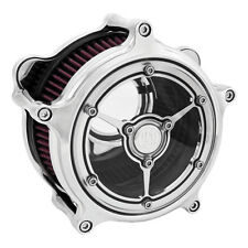 RSD Clarity Air Filters Chrome, F.Harley - Davidson XL 91-13 with Cv or Delphi