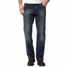 Wrangler Extra Long Classic Fit, Straight Jeans for Men