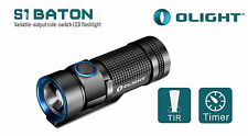 Olight S1 Baton CREE XM-L2 LED 500 Lumens Flashlight Torch Inc Holster