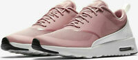 Nike Women's Air Max Thea Running Shoes Rust Pink White 599409-614 NWOB
