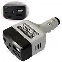 Auto New Power USB Car Inverter Converter DC 12V/24V To 220V Charger Adapter