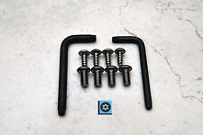 Ant-Theft *BLACK* Security Screws MERCEDES FRONT & REAR License Plate  (8 pcs)