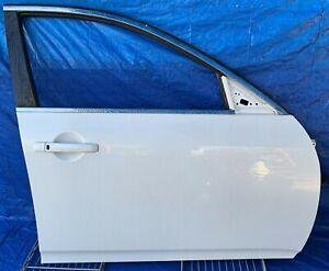 INFINITI G25 G35 G37 Q40 SEDAN FRONT RIGHT SIDE DOOR ASSEMBLY WHITE # MR1-DRS816