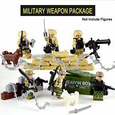 Army WW2 Military Set Iron War Tank Compatible LEGOs Building Block DIY Kids Toy