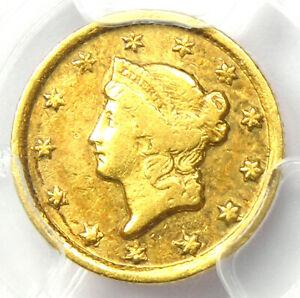 1849-D Liberty Gold Dollar G$1 - Certified PCGS VF Detail - Rare Dahlonega Coin