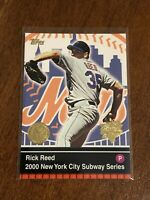2000 World Series Topps Baseball Base Card #18 - Rick Reed - New York Mets