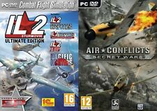 IL2 Sturmovik - The Ultimate Edition & air conflicts secret wars   new&sealed