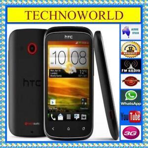 UNLOCKED HTC DESIRE C A320B◉3G◉512MB/4GB◉ANDROID◉WIFI HOTSPOT◉BEATS AUDIO◉AU STK