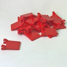 20 NEW LEGO Flag 2 x 2 Square Red