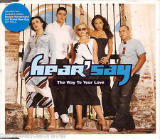 HEAR'SAY - The Way To Your Love (UK 3 Tk CD Single Pt 2)