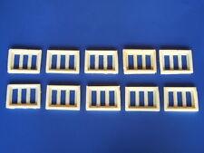 Finestre moderne a tre ante scala 1/87 - H0 pezzi 10 - Krea