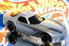 2009 Hot Wheels #147 Dream Garage '06 Dodge Viper silver