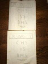 2 Cristobal High  Balboa High Jr.Varsity Football Roster 1971 Panama Canal Zone