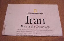 National Geographic August 2008 Map Poster Iran Born at the Crossroads