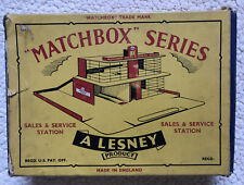 Rare Vintage Matchbox Series Lesney MGb-1 Esso Sales And Service Station Boxed