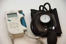 Sonotrax  Basic Vascular Doppler  FDA , 8MHZ  ABI KT, LCD w/ attached Guage Cuff