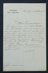 Président Raymond POINCARE autographe #6
