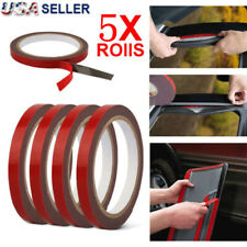 5 Pack Auto Truck Car Acrylic Foam Double Sided Attachment Tape Adhesive 3mx10mm