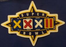REAL Game Issued NFL Super Bowl (Superbowl) XXXII Vinyl Patch