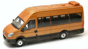 Model Bus buses Ros Iveco Minibus Gold vehicles diecast collection
