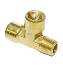 3/8 Npt Male Female Street Tee T Forged Brass Pipe Fitting Fuel Air Oil Gauge