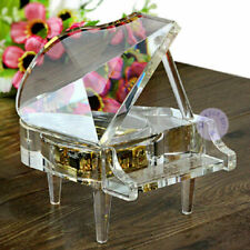 Transparent PIANO  MUSIC BOX :  HARRY POTTER HEDWIGS THEME SOUNDTRACK