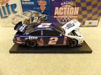 New 1998 Action 1:24 NASCAR Rusty Wallace Miller Lite Elvis TCB Ford Taurus BW