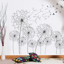 Flying Bird Dandelion Removable Art Wall Sticker Decal DIY Home Room Decor