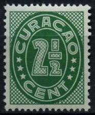 Curacao 1936-42 SG#158A, 2.5c Green P13.5x12.5 MH #D43879
