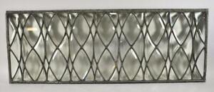 Antique Beveled Glass Transom Window