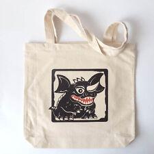 Godzilla Monsters Burlap Shopping Bag / Tote Bag Canvas - Baragon