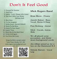 Mick Rogers Band - Don't It Feel Good [CD]